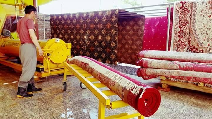 کارگاه قالین شویی گوهر براق